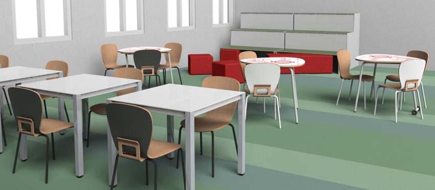 Sanlop equipamiento integral mobiliario escolar for Mobiliario escolar medidas