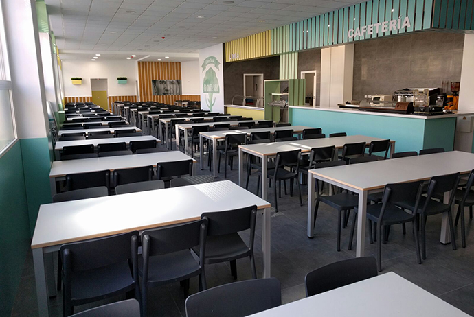 Sanlop equipamiento integral mobiliario escolar oficinas colectividades proyectos a - Proyecto de comedor escolar ...