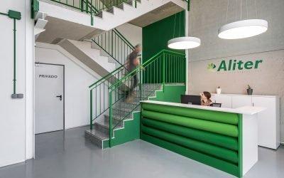 Equipamiento para oficinas de Aliter