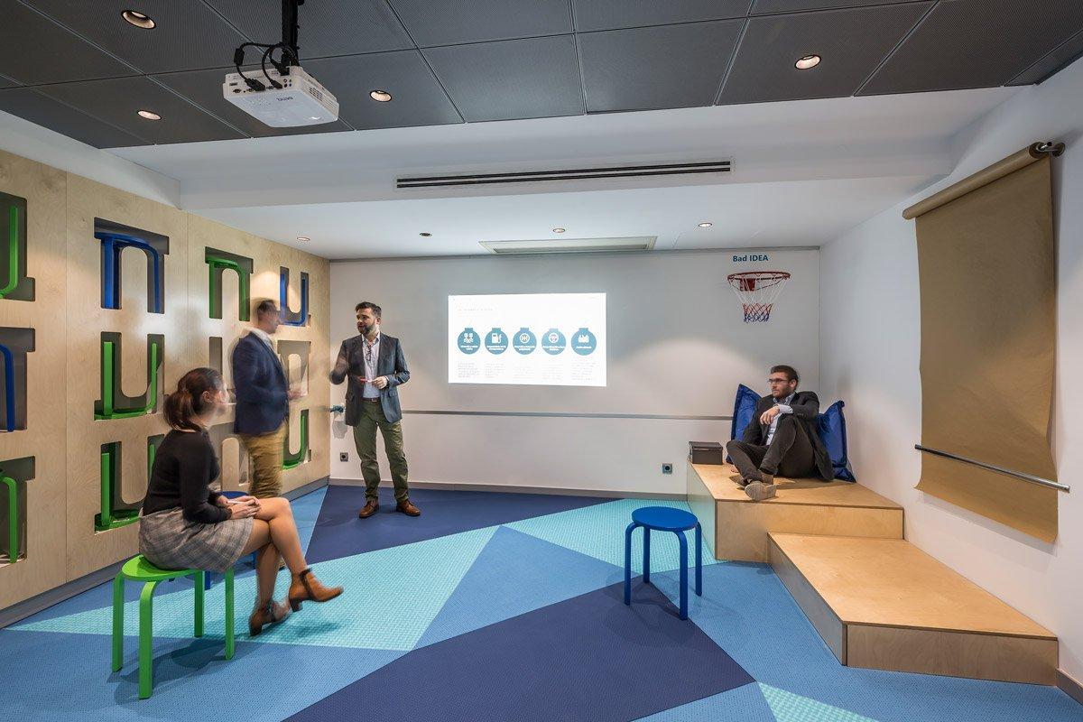 Mobiliario de oficina Sanlop para Improving Consulting