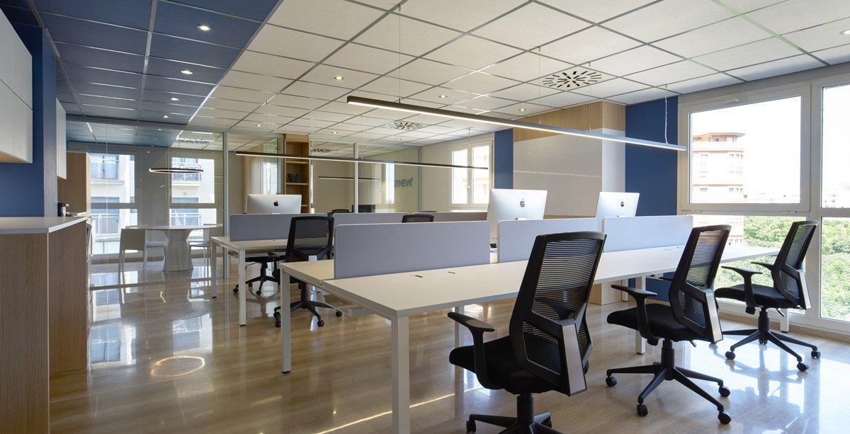 Oficina multipuesto en Valencia