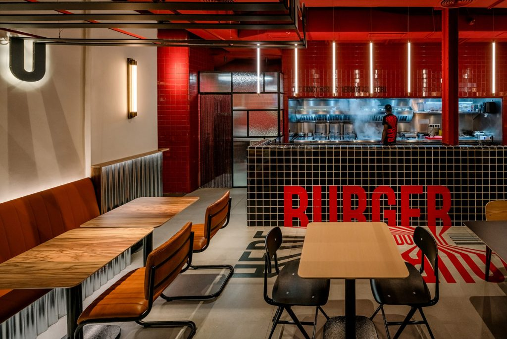 barra para restaurante informal