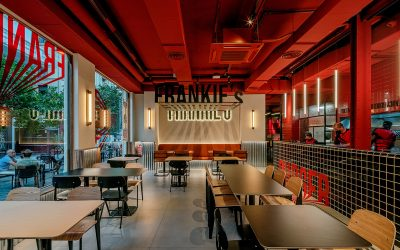 Equipamiento de restaurante Frankie's Burguer Bar